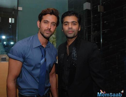 Karan Johar wants to work with Hrithik Roshan again