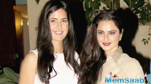 Rekhaji is an incredibly ideal woman in every way, says Katrina Kaif
