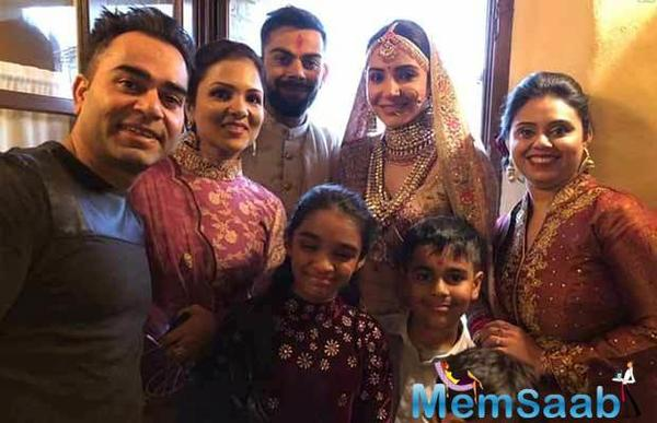 Virat Kohli and Anushka Sharma, promised each other to be bound in love for ever