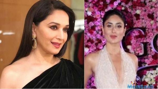 Madhuri Dixit Nene pens down a letter for Kareena Kapoor Khan