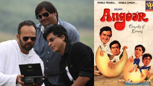Shah Rukh Khan and Rohit Shetty to be team up again for the remake of Angoor
