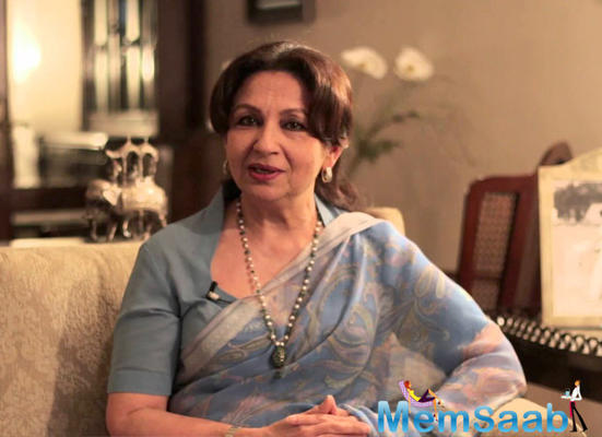 Sharmila Tagore thinking about penning her autobiography