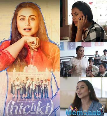 The much awaited trailer of Rani Mukerji's film 'Hichki' is finally released by the makers.