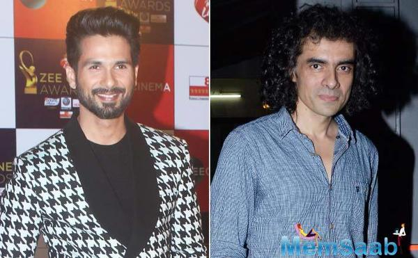 Shahid Kapoor confirms his next film with Imtiaz Ali