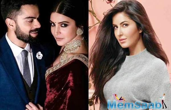 Katrina Kaif was totally unaware of Virat and Anushka wedding