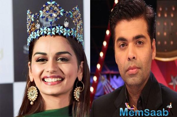 Karan Johar on Manushi in SOTY 2: Look forward to meeting her but nothing discussed