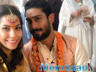Prateik Babbar announces his engagement with Sanya Sagar in the quirkiest way