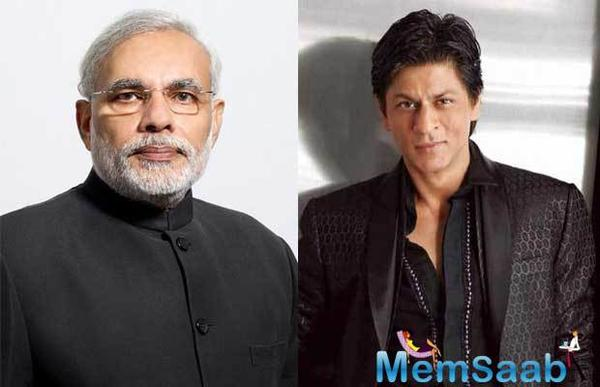 The Bollywood actor heaped praises on Prime Minister Modi's presence, especially his command over Hindi, and said that his speech is a matter of pride for the country.