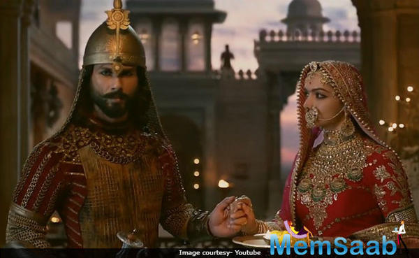 This film is set in an era where a certain race, Khilji is trying to overtake Delhi leaving their mark as champions.