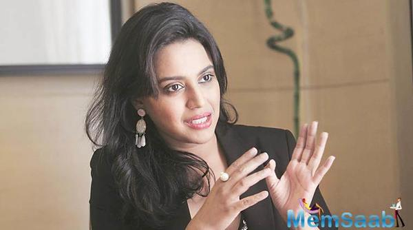 Suchitra Krishnamoorthi criticizes Swara Bhaskar's opinion on Padmaavat