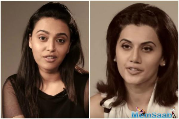Here's Why Taapsee Pannu doesn't agree with Swara Bhaskar's opinion