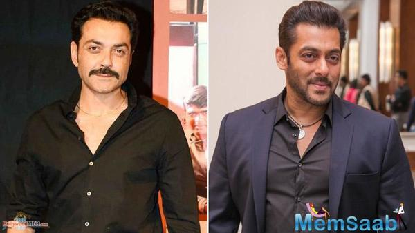 Is Salman Khan reviving Bobby Deol's second innings in Bollywood?
