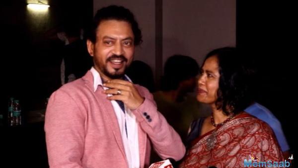 My wife is my best friend: Irrfan Khan