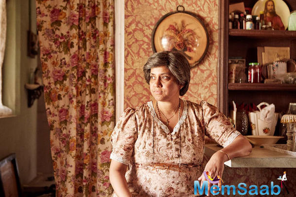 Is Renuka Shahane's character from 3 Storeys inspired by real life?