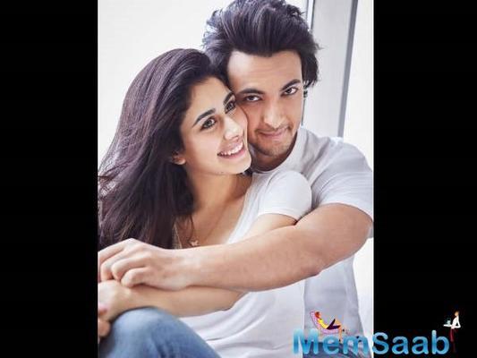 Salman Khan revealed Aayush Sharma, Warina Hussain's Loveratri poster on Valentine's Day