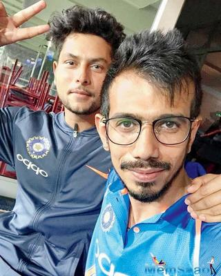 On Sunday, in the first T20I match against South Africa, Team India's leg-break bowler Yuzvendra Chahal wore glasses while fielding at the Wanderers in Johannesburg.