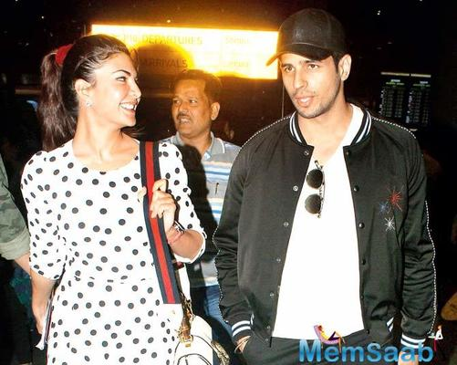 What's cooking between Jacqueline Fernandez and Sidharth Malhotra?