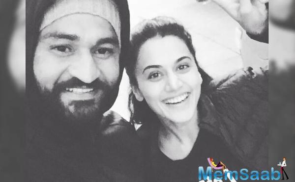 "Taapsee Pannu: ""Sandeep Singh the best coach I ever had"""