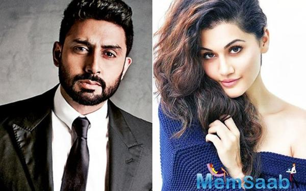 Abhishek Bachchan Begins Shooting For Manmarziyan