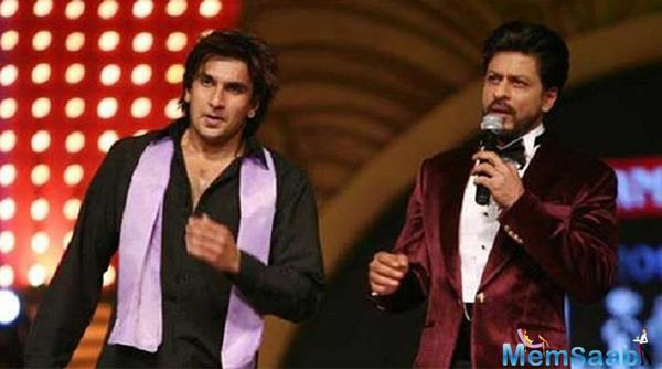 Ranveer Singh believes he still doesn't belong in Shah Rukh Khan's class