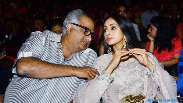Boney Kapoor to make a comprehensive documentary on the life of Sridevi
