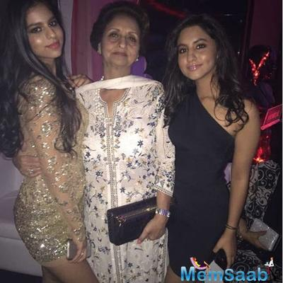 Lovely throwback picture: Gauri Khan cherishes moments of daughter Suhana with Grandmother