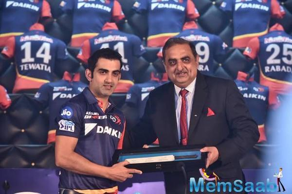 Here's what Gautam Gambhir said after his appointment as Delhi Daredevils captain