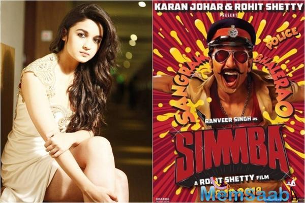 Why Rohit Shetty might not cast Alia Bhatt in Simmba