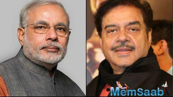 Shatrughan Sinha to play PM Modi in upcoming biopic?