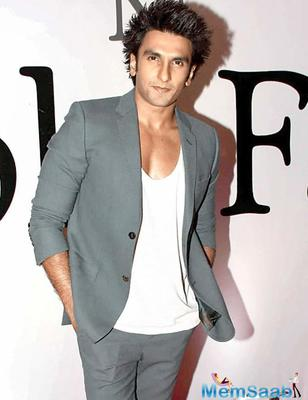 It's a busy year for Ranveer Singh