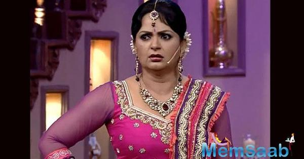 Upasana Singh became a household name after her stint in Kapil Sharma's comedy chat show.