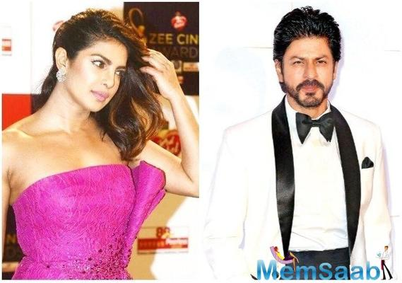 Shah Rukh Khan and Priyanka Chopra all set for a journey into space