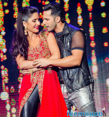 Varun Dhawan and Katrina Kaif in India's biggest dance film