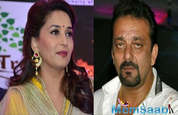 Madhuri Dixit in, Sanjay Dutt out?