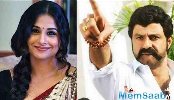 Vidya Balan to star in a biopic on former Andhra CM NTR?