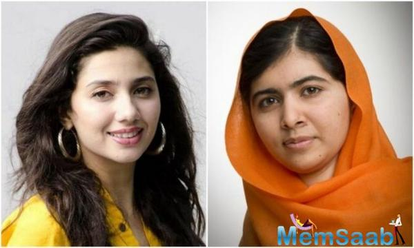 Mahira Khan welcomes Malala Yousafzai in Pakistan, who, returns to Pakistan after six years