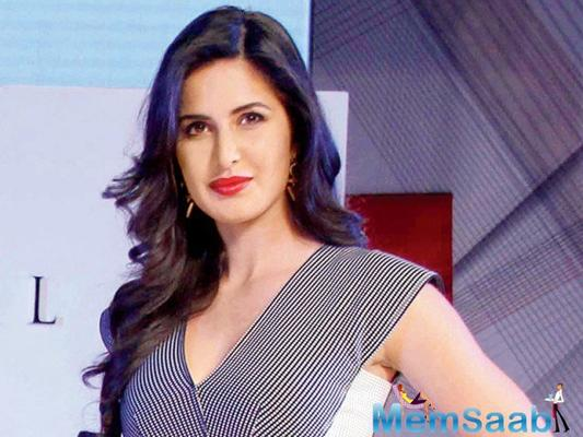 Be healthy, says Katrina Kaif