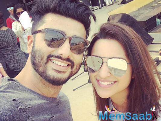 Arjun Kapoor working 18 hours a day for Namastey England