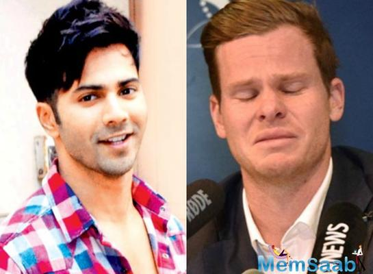 Varun Dhawan comes out in support of Steve Smith