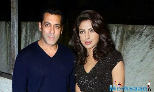 Priyanka Chopra to opt out of quantico for Salman Khan's Bharat?