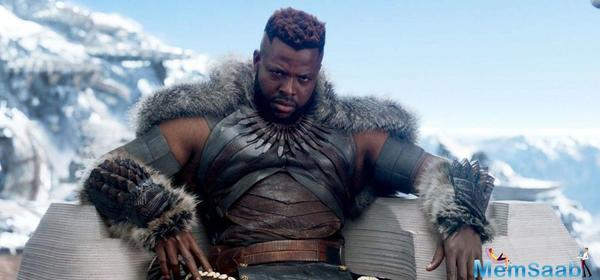 Black Panther' actor Winston Duke is a big Prabhas fan