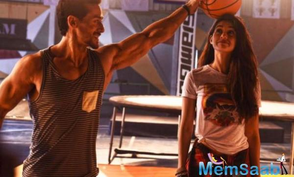 Tiger Shroff gets a roaring response from his fans in theatre