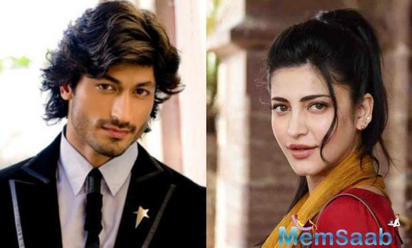 Shruti Haasan is back, begins shooting for her next with Vidyut and Mahesh Manjrekar