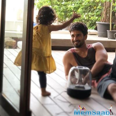 Shahid Kapoor has the cutest way to announce that he's ready for second child