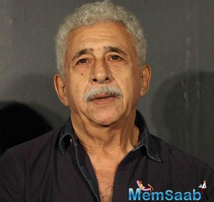 Naseeruddin Shah: More rape cases being reported is a good thing