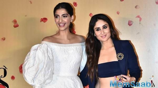 The 32-year-old actor launched the trailer of the film today along with her co-stars Kareena Kapoor Khan, Swara Bhasker and Shikha Talsania.
