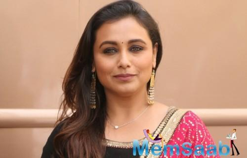 Rani Mukerji: I should never forget the fact that I am here to entertain the masses
