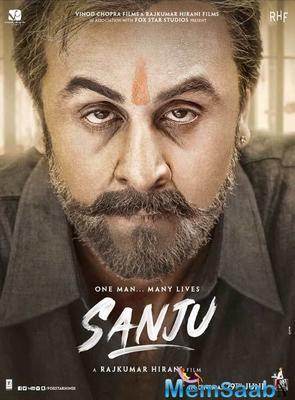 Sanju Poster: Ranbir or Sanjay? It's hard to recognise! Isn't it?