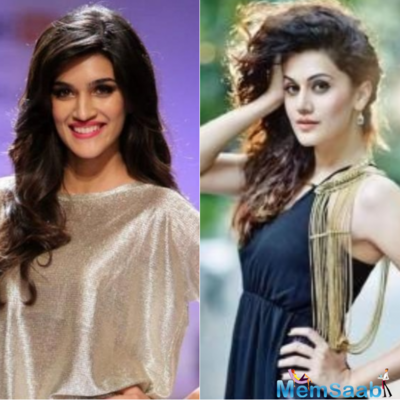 Kriti Sanon, Taapsee Pannu to be trained in rifle shooting for Womaniya