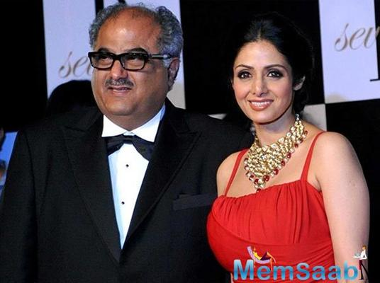 Boney Kapoor to make a film on Sridevi's Journey; Plans to roll by 2019